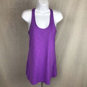 Kirkland signature purple workout tank top Medium